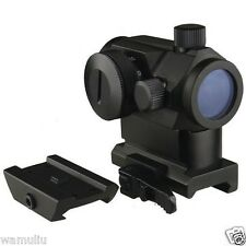 MICRO Red Dot Sight With QD Riser Mount, & Low Profile Base, For S&W Kel-Tec Ect