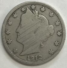 1912-D  LIBERTY NICKEL - BETTER DATE - NICE COLLECTIBLE COIN - UP FOR BIDS #201