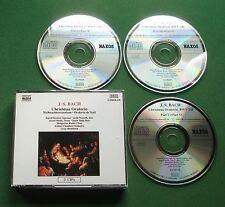 J S Bach Christmas Oratorio Ingrid Kertesi Judit Nemeth Jozsef Mukk + 3 x CD
