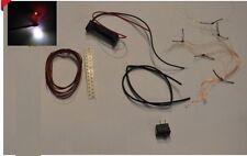 kit LED éclairage subminiature diorama 1:18 1:43 HO complet 10 lumières
