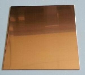 Quality Copper Sheet 0.5mm thick  - various sizes