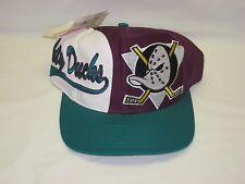 Vintage Anaheim Mighty Ducks Logo Athletic snapback hat cap NHL hockey NWT NOS