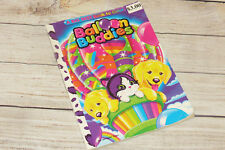 Vintage Lisa Frank Balloon Friends Casey Cat Dog Kitty Puppy Coloring Book 1990s