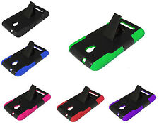 For Alcatel One Touch Pop Mega LTE A995G A995L Dual Kickstand Phone Cover Case