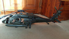BBI UH-60 Blackhawk Helicopter 1:18 Blue Box Toys US Army Excellent