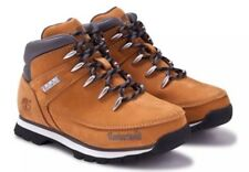 Timberland Boys Wheat Euro Sprint Hiker Leather Hiking Boots size 2