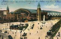 Interessante Ansichtskarte Hamburg Hauptbahnhof
