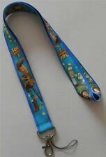 MOBILE PHONE/IDENTITY CARD LANYARD NECK STRAP BLUE TOY STORY CHARACTERS