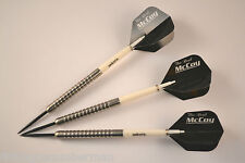 TUNGSTEN DARTS SET 22g  UNICORN STEMS McCOY FLIGHTS & WALLET
