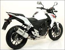 SILENCIEUX ARROW ALU HONDA CB 500 F / CBR 500 R - 71480MI+71804AK