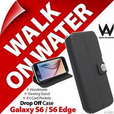 Walk On Water Drop Off Flip Stand Folio Case for Samsung Galaxy S6 / S6 Edge