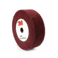 "4""~12"" Nylon Fiber Flap Polishing Wheel Disc Non-woven Abrasive Buffing 320 Grit"