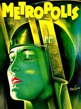 FILM MOVIE 1927 METROPOLIS VINTAGE ART POSTER PRINT LV1582