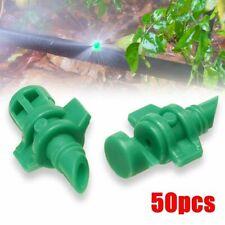 50pc Micro Garden Lawn Water Spray Misting Nozzle Sprinkler Irrigation System