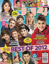 One Direction, Justin Bieber, Selena Gomez - Best & Worst of 2012 J-14 Magazine