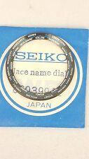 SEIKO NAVIGATOR TIMER 6117-6410 6419 6409 DIAL RING 6117 6400 WORLD TIME BLACK
