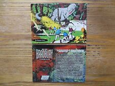 1993 TOPPS RAY BRADBURY COMICS DINOSAUR T-REX PROMO CARD A SOUND OF THUNDER