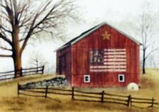 Billy Jacobs The Flag Barn  Print 16 x 12