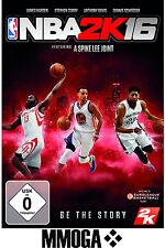 NBA 2K16 - PC Game Key - STEAM Download Code - NBA 2016 Standard Version [EU/DE]