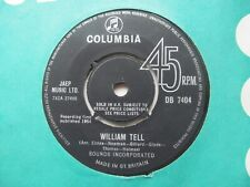 """SOUNDS INCORPORATED William Tell/Bullets UK 7"""" Single EX Cond"""