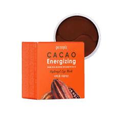 [PETITFEE] Cacao Energizing Hydrogel Eye Mask 84g (60pcs) / Korea Cosmetic