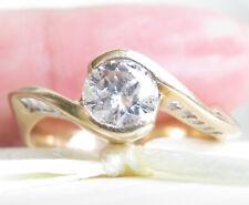 Valuation$7248 Genuine 1.00ct Diamond Ring 14K Yellow Gold