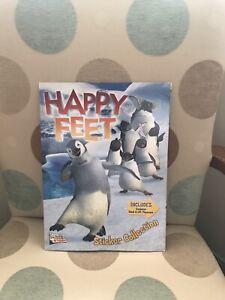 Panini Penguin Happy Feet Sticker Album - Complete - VGC
