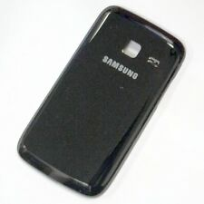 Black Battery Cover For Samsung Galaxy Y Duos S6102 Original Part