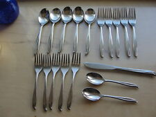 18 Pcs International Stainless Flatware Tradewinds Jamaica