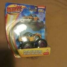 Blaze And The Monster Machines Stripes Die-Cast Toy Car Vehicle Fisher Price