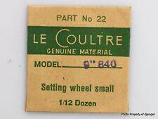 Jaeger LeCoultre Set Wheel Cal.840 Part #450 22