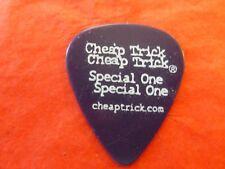 Cheap Trick Tour Guitar Pick Rick Nielsen Purple