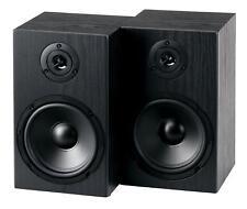 2 Casse Audio HiFi Stereo Diffusori 2 Vie Altoparlanti da scaffale 40W Nero