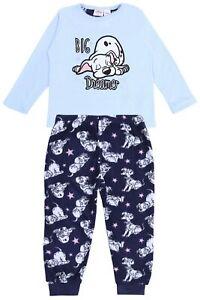 Blue Top & Bottoms Pyjama Set For Girls 101 Dalmatians DISNEY