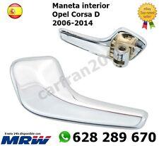 Opel Corsa D 06-14 TIRADOR MANETA MANIJA DELANTERO IZQUIERDO