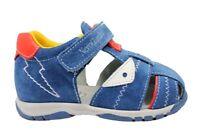 Nero Giardini J P823130M Azzurro Scarpe Sandali Bambino Chiusura con Strappo