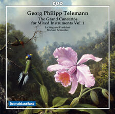 Georg Philipp Telemann : Georg Philipp Telemann: The Grand Concertos for Mixed
