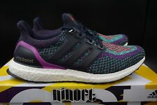 Adidas Ultra Boost 2.0 M Shock Purple Multicolor Night Navy BB3908 NEW