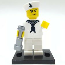"LEGO Collectible Minifigure #8804 Series 4 ""SAILOR"" (Complete)"