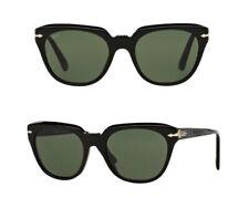 NEW Persol sunglasses PO3111 95/31 50mm Black Grey Green AUTHENTIC 3111 Square
