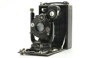 [AS-IS] ICA IDEAL 111 Folding Camera w/ Carl Zeiss Tessar 105mm f/4.5 from JAPAN