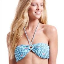 NWOT Vineyard Vines Sz XS Logo Bikini Top