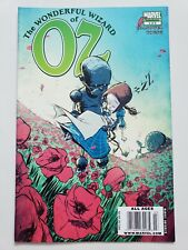 THE WONDERFUL WIZARD OF OZ #3 (2009) MARVEL COMICS SKOTTIE YOUNG COVER & ART!