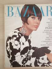 "Magazine Harper's BAZAAR US March 1966  ""About PARIS""  Vintage Fashion Mode"