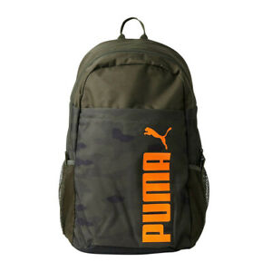 Puma Style Sac à Dos Sport Loisir Voyage École 076703 Vert