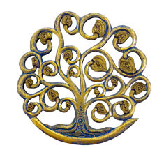 Tree of Life Wall Plaque Handcrafted Wooden Celtic Tree of Life Wall Decor 12""