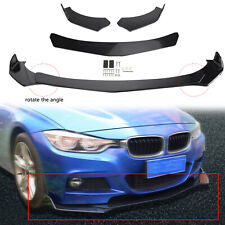 Front Bumper Lip Body Kit Spoiler For GMC Honda Civic BMW Benz Mazda USA