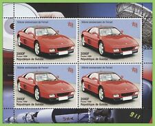 Guinee Rep. 1998 Cars miniature sheet MNH