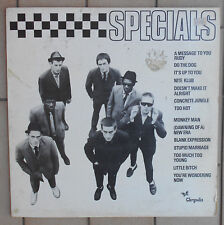 "SPECIALS DISCO LP 33 GIRI 12"" - ITA CHRYSALIS 6307 687"