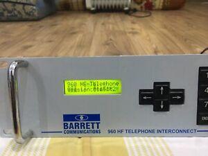 Barrett 960 HF Telephone Interconnect
